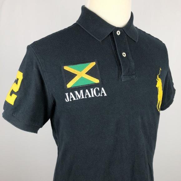 8662b6ff1cf2f Polo Ralph Lauren Jamaica Polo Shirt Large Green. M 5c06101c04e33d15b483a5d6